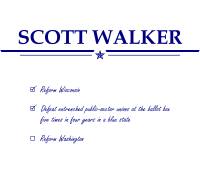 Scott Walker: Zazzle